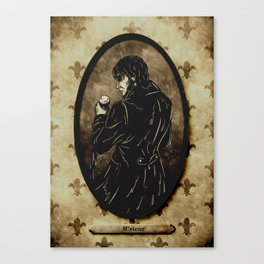 "DARK EYES: ""M'SIEUR"" Canvas Print"
