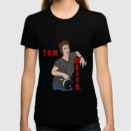 Tom, Waits. T-shirt