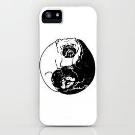 The Tao of English Bulldog iPhone Case