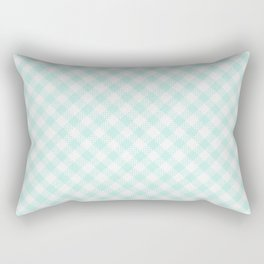 Summer Plaid 16 Rectangular Pillow