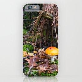 Autumn Mushroom Fairytale Forest iPhone Case