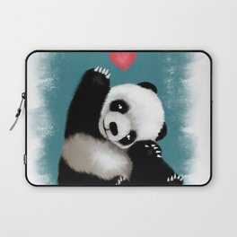 Panda Love (Color) Laptop Sleeve