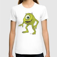 monsters inc T-shirts featuring Monsters, Inc. | Mike Wazowski by Brave Tiger Designs