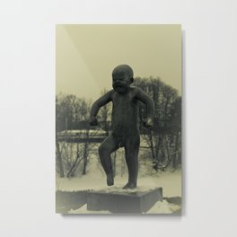 Cries of Vigelandsparken Metal Print
