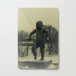 Cries of Vigelandsparken Metal Print
