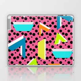 Bright memphis shapes Laptop & iPad Skin