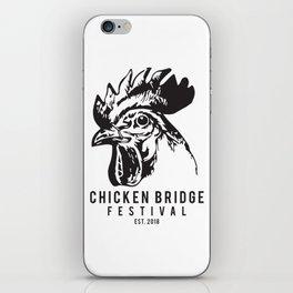 Chicken Bridge Festival, 2018 iPhone Skin