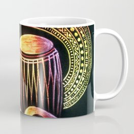 African Musical Instrument Collection Coffee Mug