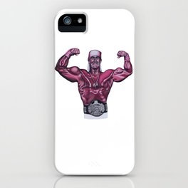 Hulk in Pink iPhone Case