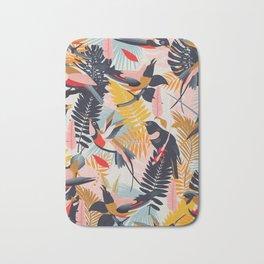 Paradise Birds II. Bath Mat
