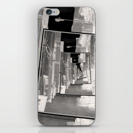 Reflections of An Infrared Alley iPhone Skin