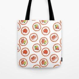 Tasty sushi Tote Bag