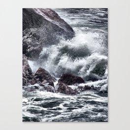 Cold Sea Canvas Print