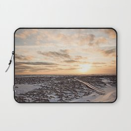 Snaefellsnes- Snowy Road Laptop Sleeve
