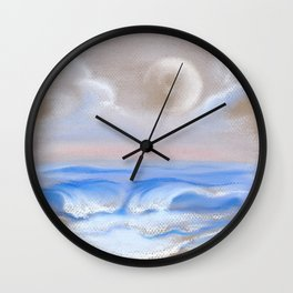 Moonrise Over Myrtle Beach Wall Clock