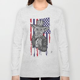 Pig Socket Long Sleeve T-shirt