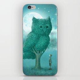 The Night Gardener iPhone Skin