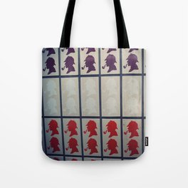 Sherlock in London Tote Bag