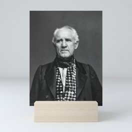 Sam Houston Photo Mini Art Print