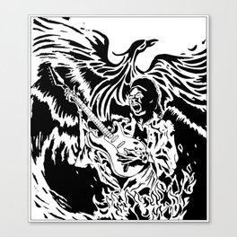 Jimi Hendrix Tribute Canvas Print