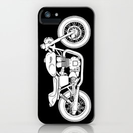 Triumph Bonneville - Cafe Racer series #3 iPhone Case