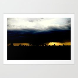 Wall Cloud Art Print
