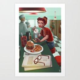 I've Got My Fry On You Art Print