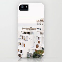 Cliffside View, Positano iPhone Case