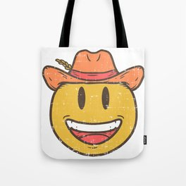 Cowboy Rancher cattleman  Smiley Gift Tote Bag