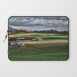 Fall Winds Arrive at the Farm Laptop Sleeve