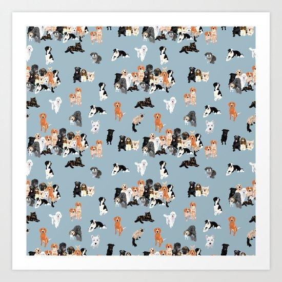 animal gang pattern by vieiragirl