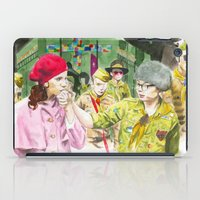 moonrise kingdom iPad Cases featuring moonrise kingdom by jgart