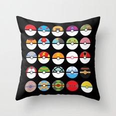 Look at My Balls Throw Pillow