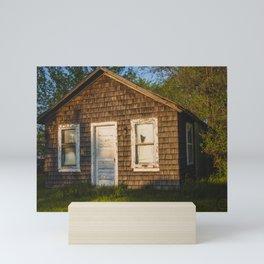 Abandoned Shack, Washburn, North Dakota 3 Mini Art Print