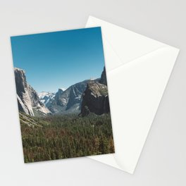 Tunnel View, Yosemite National Park V Stationery Cards