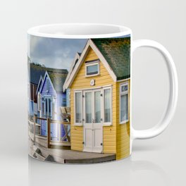 Beach Huts Hengistbury Head Dorset England UK Coffee Mug