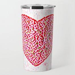 Round Heart Travel Mug