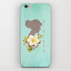 Vintage Obsessions iPhone & iPod Skin