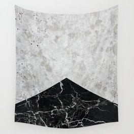 Concrete Arrow Black Granite #844 Wall Tapestry