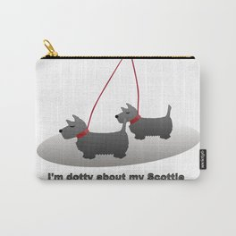 I'm Dotty about my Scottie Carry-All Pouch