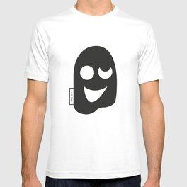 trippy mask T-shirt