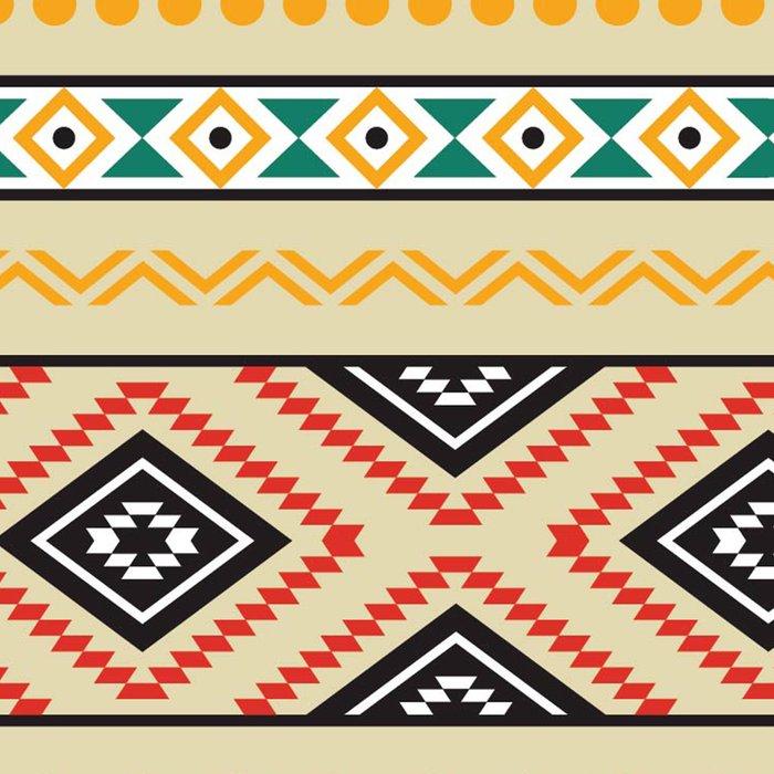 Tribal #3 * Ethno Ethnic Aztec Navajo Pattern Boho Chic Leggings