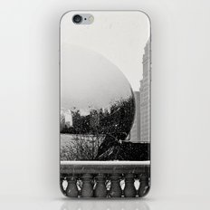 A Snowy Chicago Bean iPhone & iPod Skin