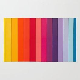 vertical lines colors Rug