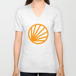 Circle dissected Unisex V-Neck