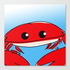 The Crabness Canvas Print