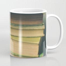 Books and Flowers Coffee Mug