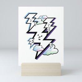 Good Luck Bolt Strike Mini Art Print