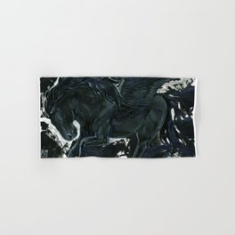Dark Pegasus Hand & Bath Towel