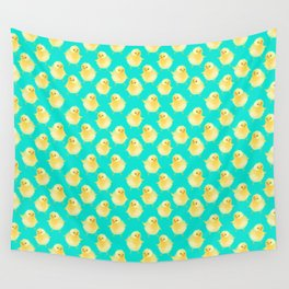 EASTER CHICK PATTERN Wall Tapestry
